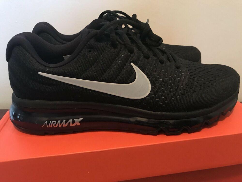 355db2bd868c3 Nike Air Max 2017 Men Black Running Shoe Size 7 #fashion #clothing ...