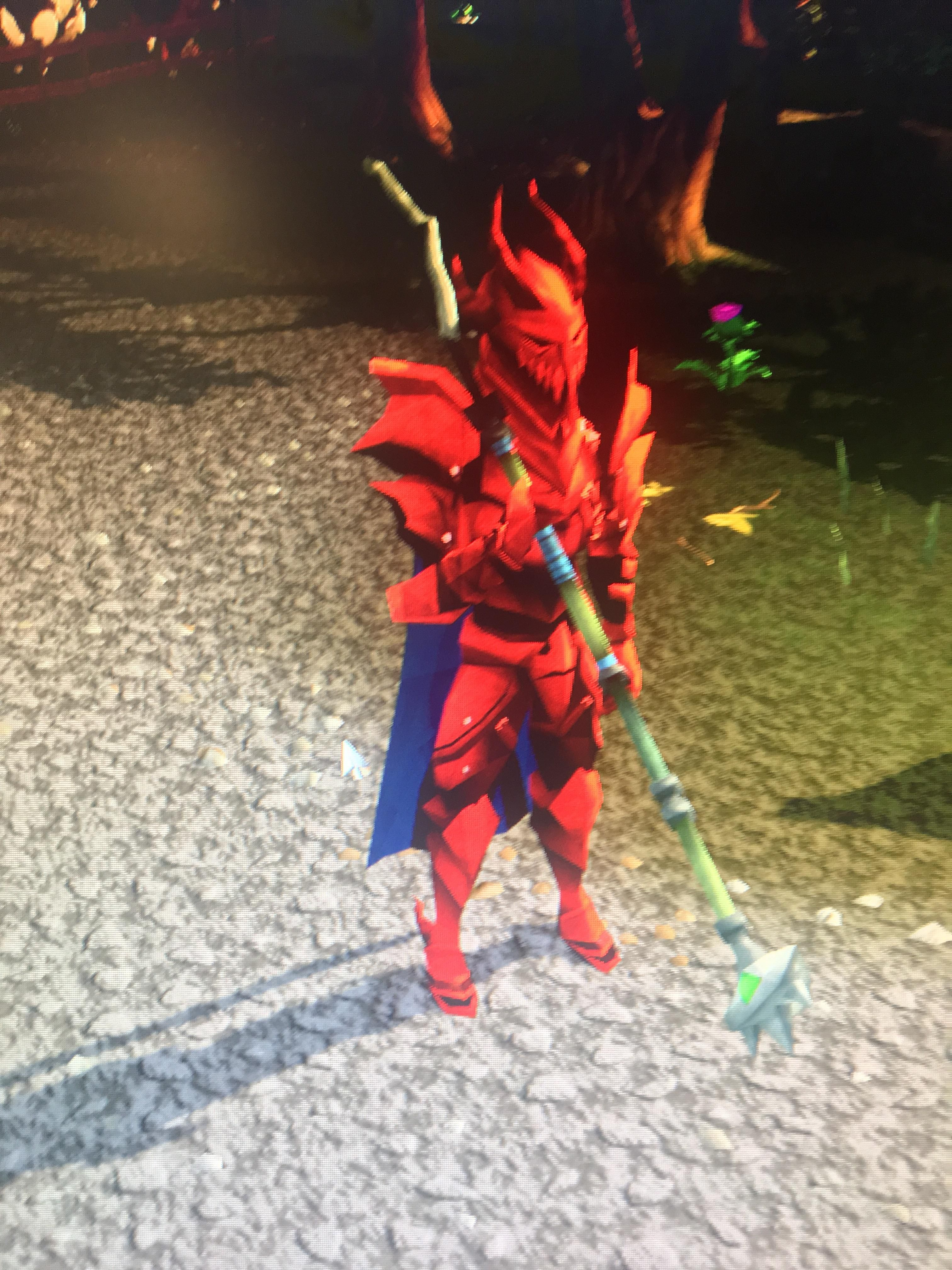 Why am I holding my spear like a 2h? I'm not using any overrides and I've tried resetting my outfit and sheathing and unsheathing. Even tried switching back and forth between EoC and Legacy with no luck.
