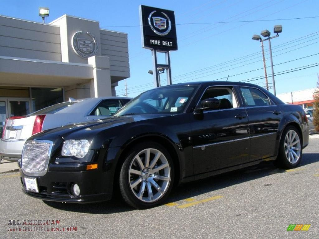 Chrysler 300 Srt8 2008 Chrysler 300 C Srt8 In Brilliant Black