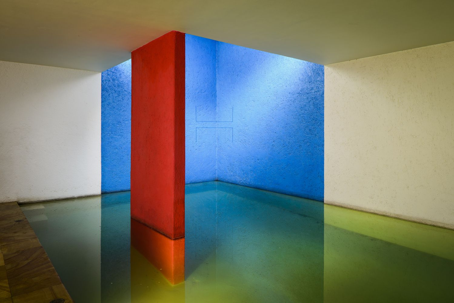 Gallery Of How Luis Barragan Used Light To Make Us See Color 1 Architettura Geometrico Moderno
