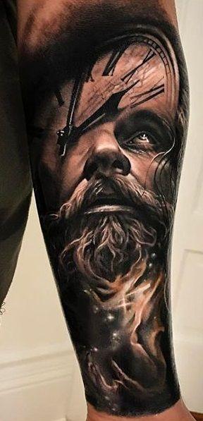 Arlo Di Cristina Arm Tattoo: Full Sleeve Tattoos, Tattoos For Guys