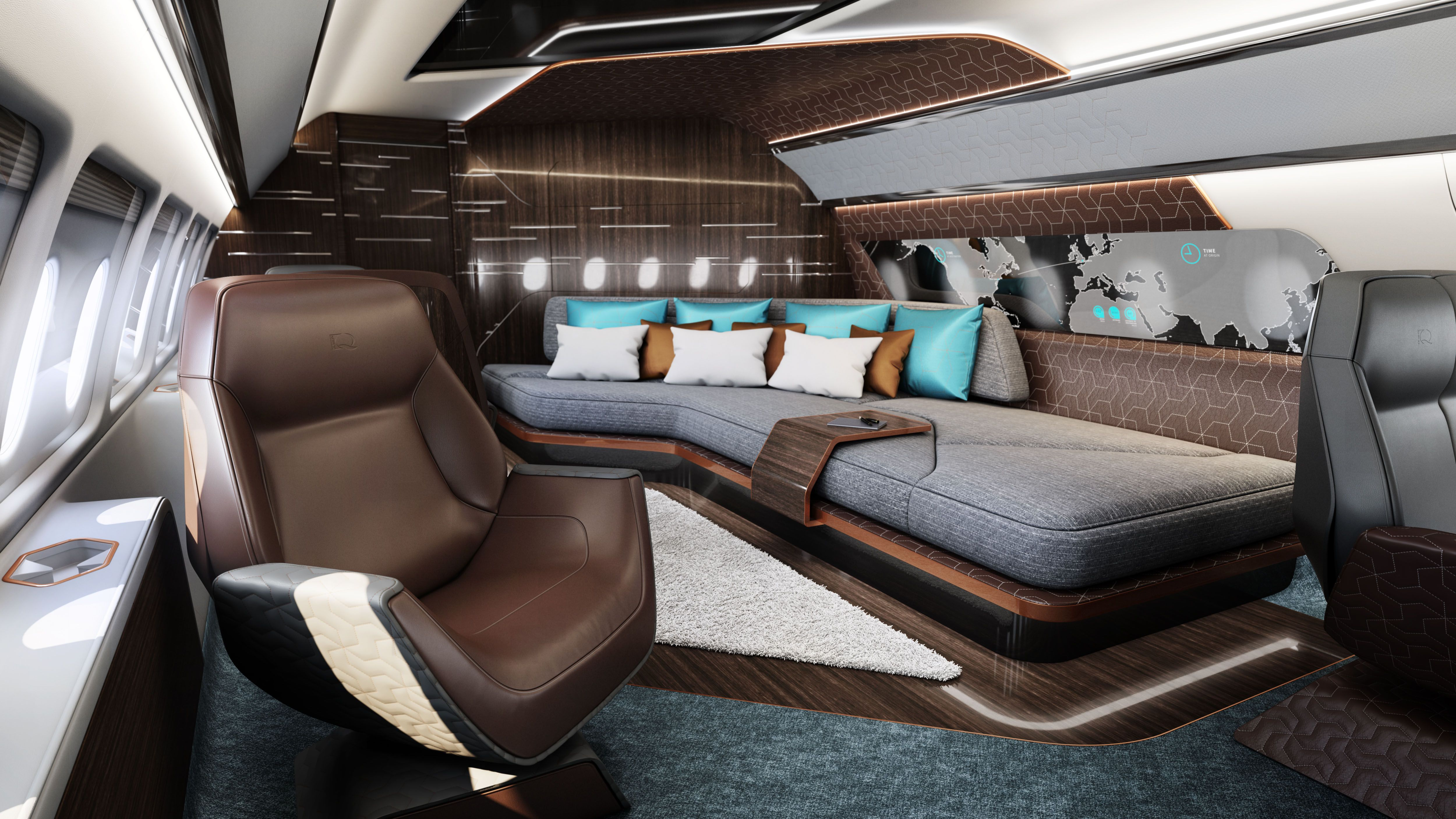 Design Q Takes A Fresh Approach To Jet Interiors With Images