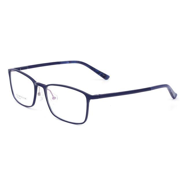 59aa2386de Men Eyeglasses Full Rim Optical Glasses Frame Alloy High Quality Man Eyewear  Fashion Vision Correction Spectacles