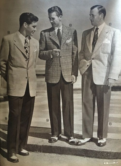 Fashion On The Couch 1940 S Fashion For Men: 1940s Men's Suit History And Styling Tips