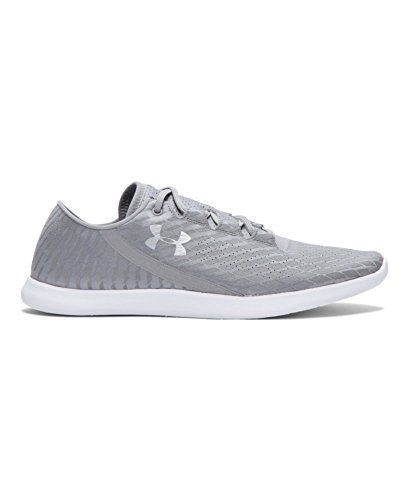 online store 130a4 3a02f Womens Under Armour Speedform StudioLux RF, Silver/White ...
