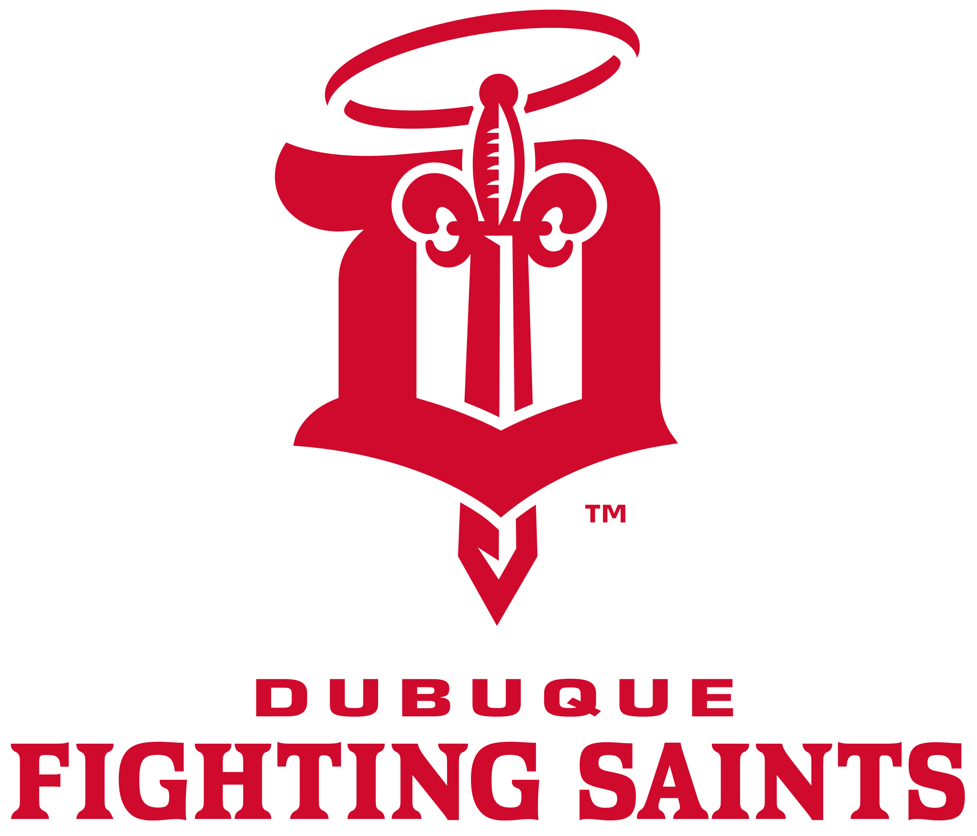 Pin sports logopng on pinterest - Dubuque Fighting Saints Sport Logos Pinterest Sports Logos Hockey Logos And Sports Clubs