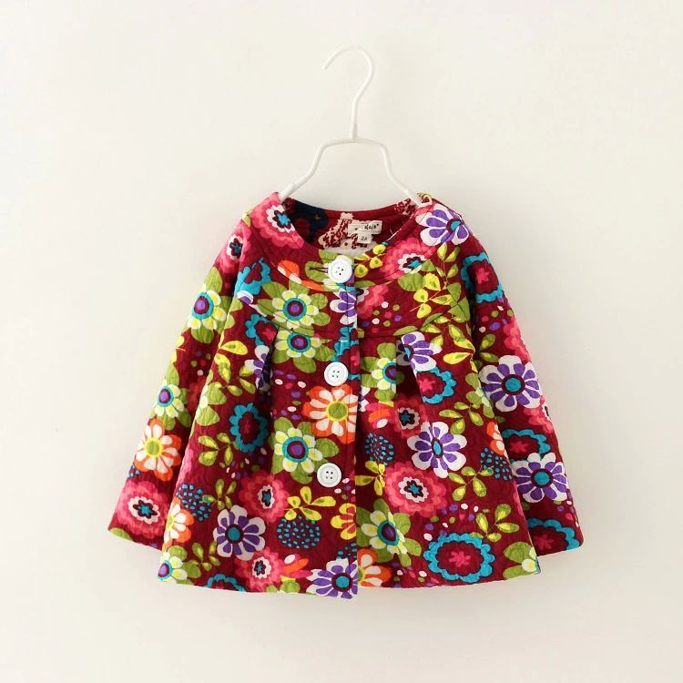 Children's jackets girls coat foreign trade girls? Coat foreign trade children's clothing qiu dong The new children's coat on EdithJewelry.com