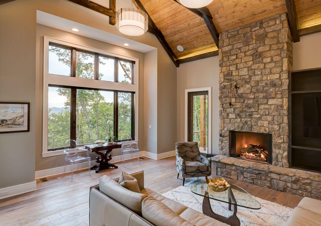 Waynesville Mountain Modern Craftsman Acm Design Asheville Architecture Interiors