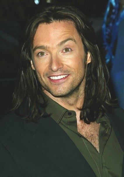 Hugh With That Long Mane Of Hair Had Had For A While Wolverine Hugh Jackman Logan Wolverine Hugh Jackman Hugh Jackman