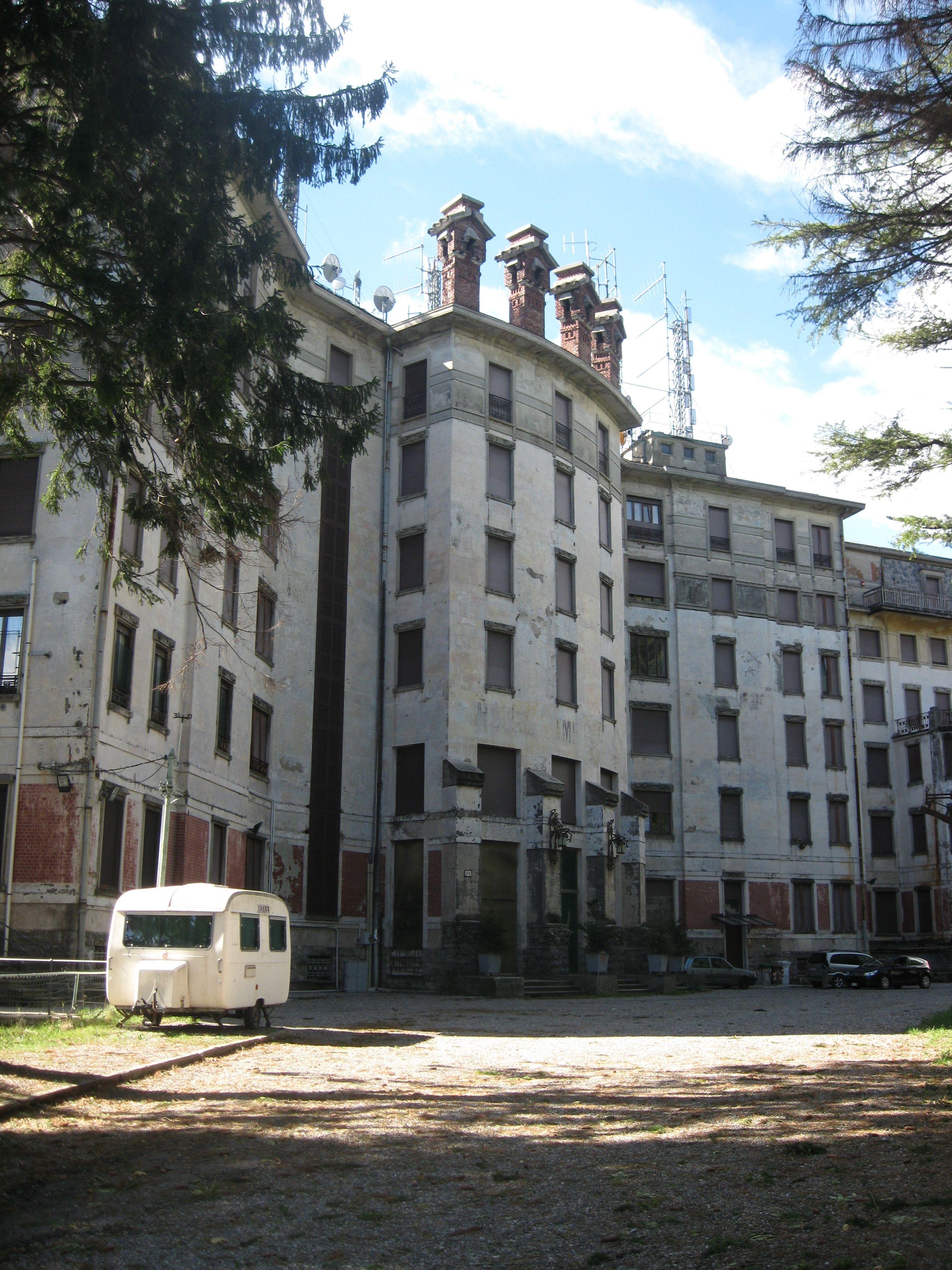 Grand Hotel Campo Dei Fiori Varese Italy. Abandoned