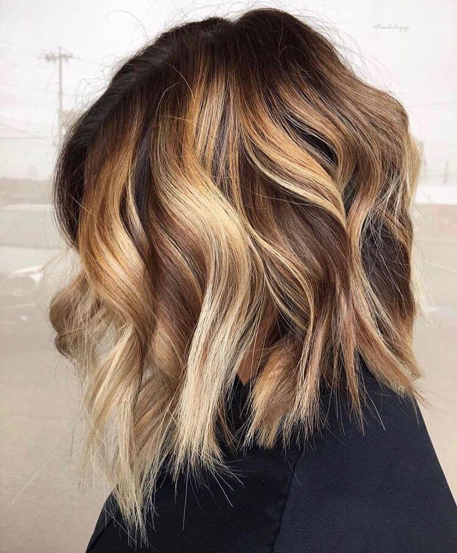 10 Creative Hair Color Ideas For Medium Length Hair Medium Haircut