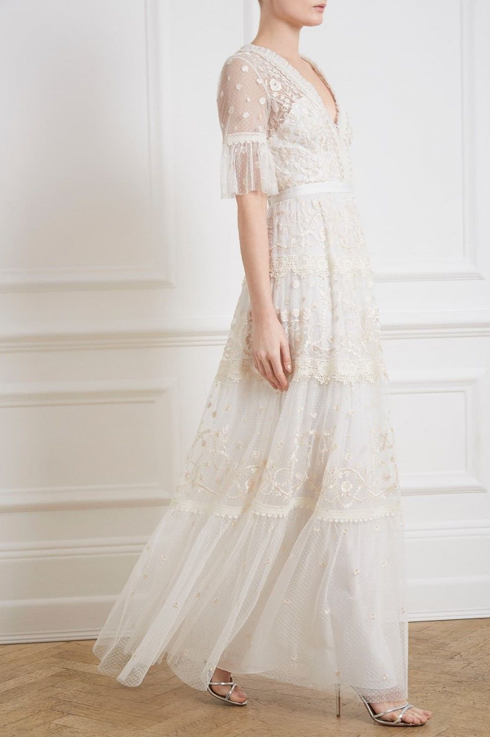 17 Seriously Cool Super Affordable Wedding Dresses Refinery29uk Needle And Thread Wedding Dresses Wedding Dresses Uk Needle And Thread Dresses