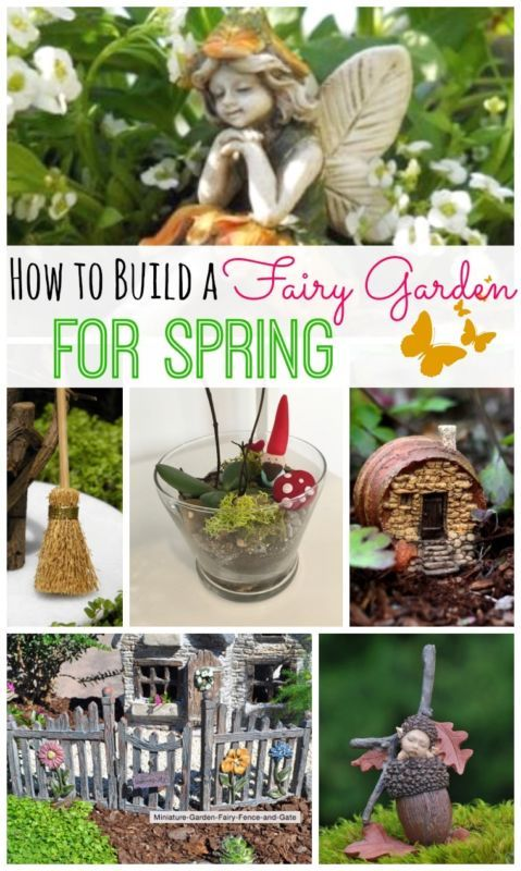 How To Build a Fairy Garden for Spring!! Such a cute idea to do with the kids so you can be outside together! -- Tatertots and Jello fro eBay