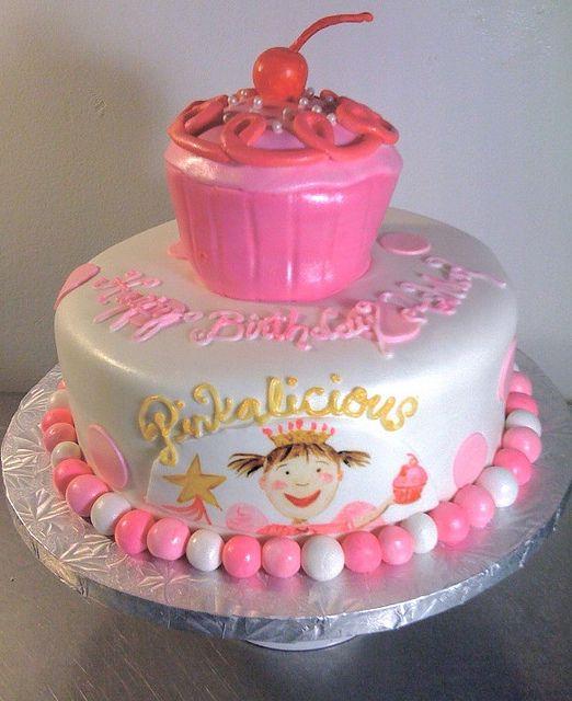 Outstanding Pinkalicious Cake Sixth Birthday Cake Party Cakes Birthday Birthday Cards Printable Benkemecafe Filternl
