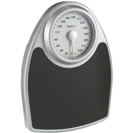 conair th100s extra large dial analog precision bath scale black - Walmart Bathroom Scale