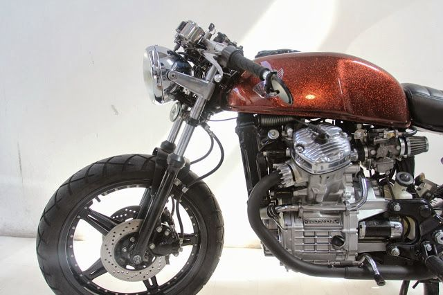 A Garage For Special Motorcycles And Cafe Racers