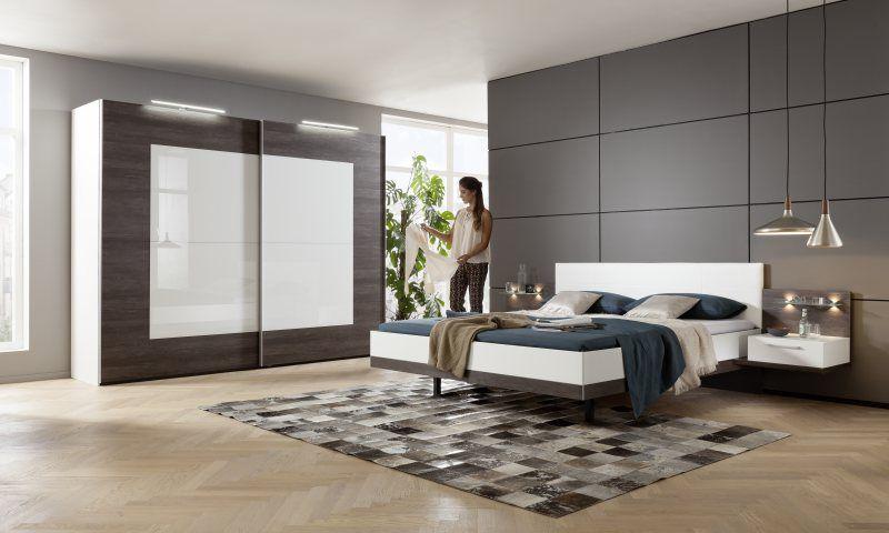 Novara Farbkombination Seidengrau   Platin-Eiche-Nb Galerie - nolte möbel schlafzimmer