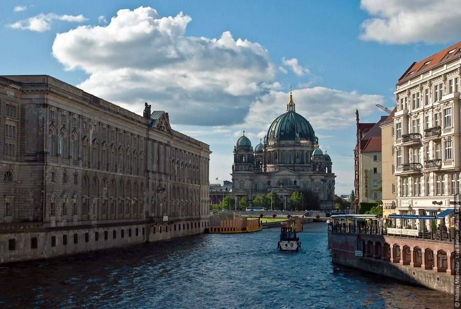 Spree River And Berlin Cathedral Berlin Germany Travel Germany