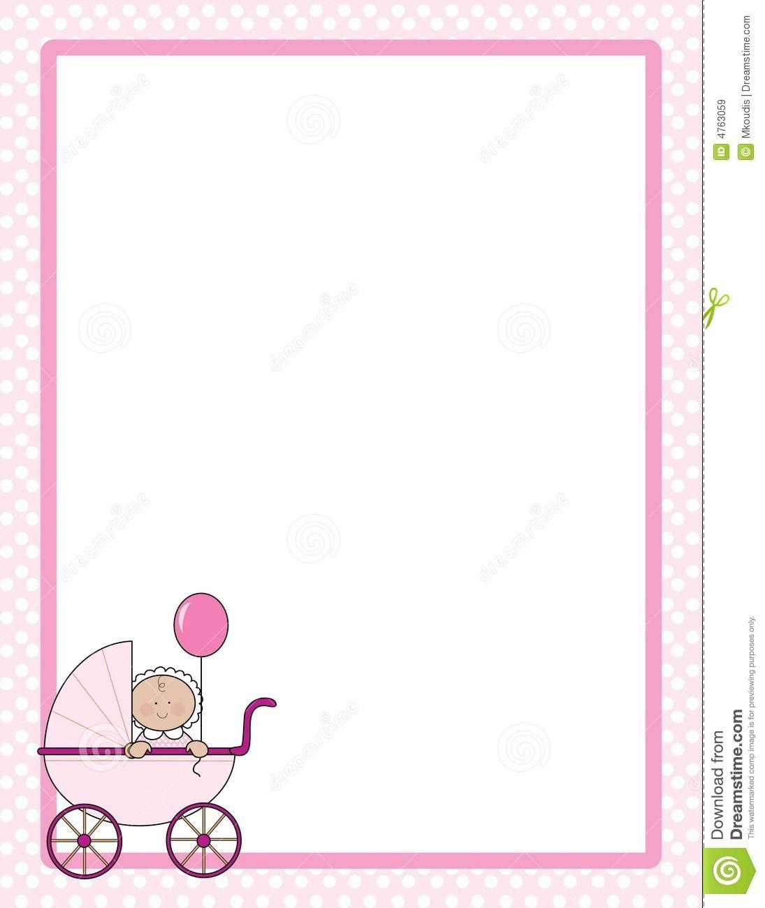 baby border clipart baby shower pinterest rh pinterest com child border clipart cute baby border clipart