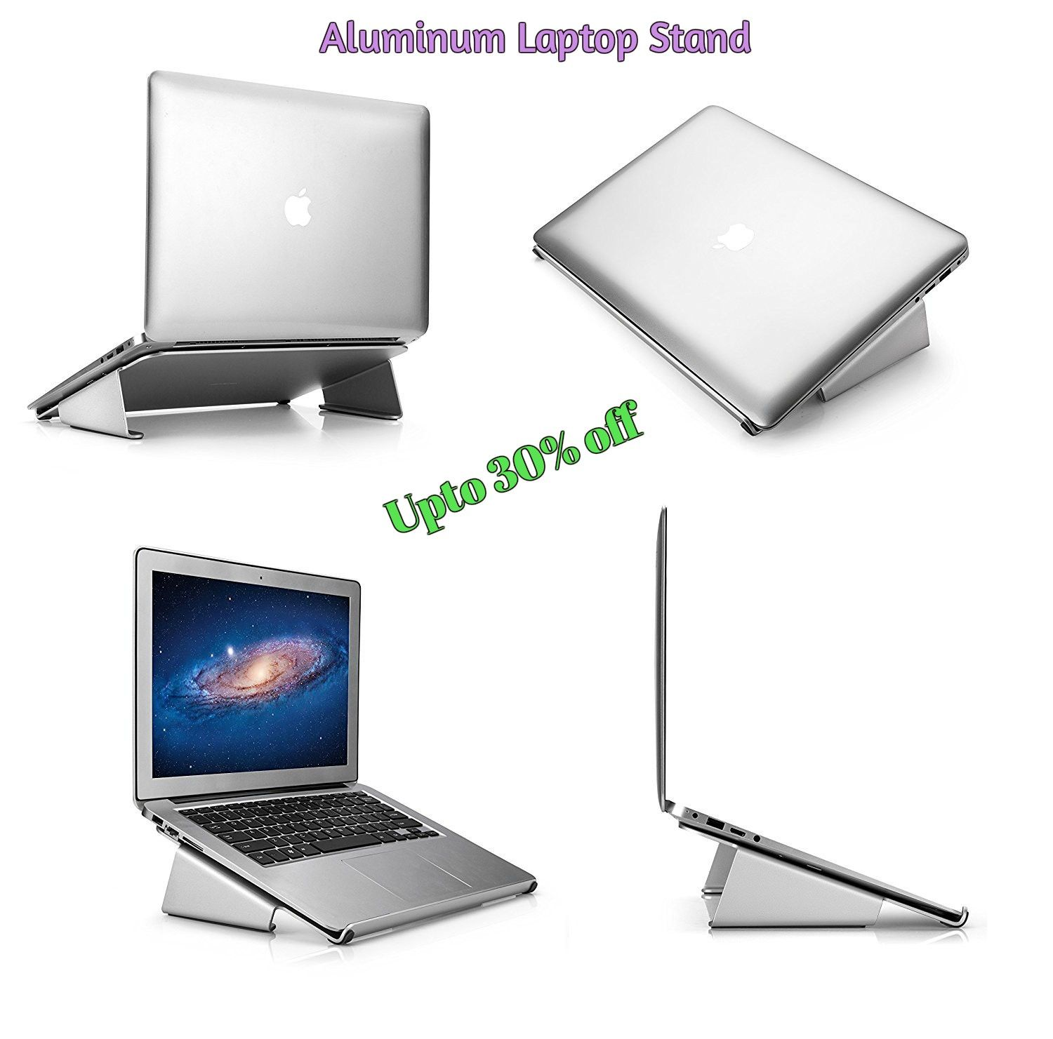 Raise your laptop screen height and enjoy the perfect