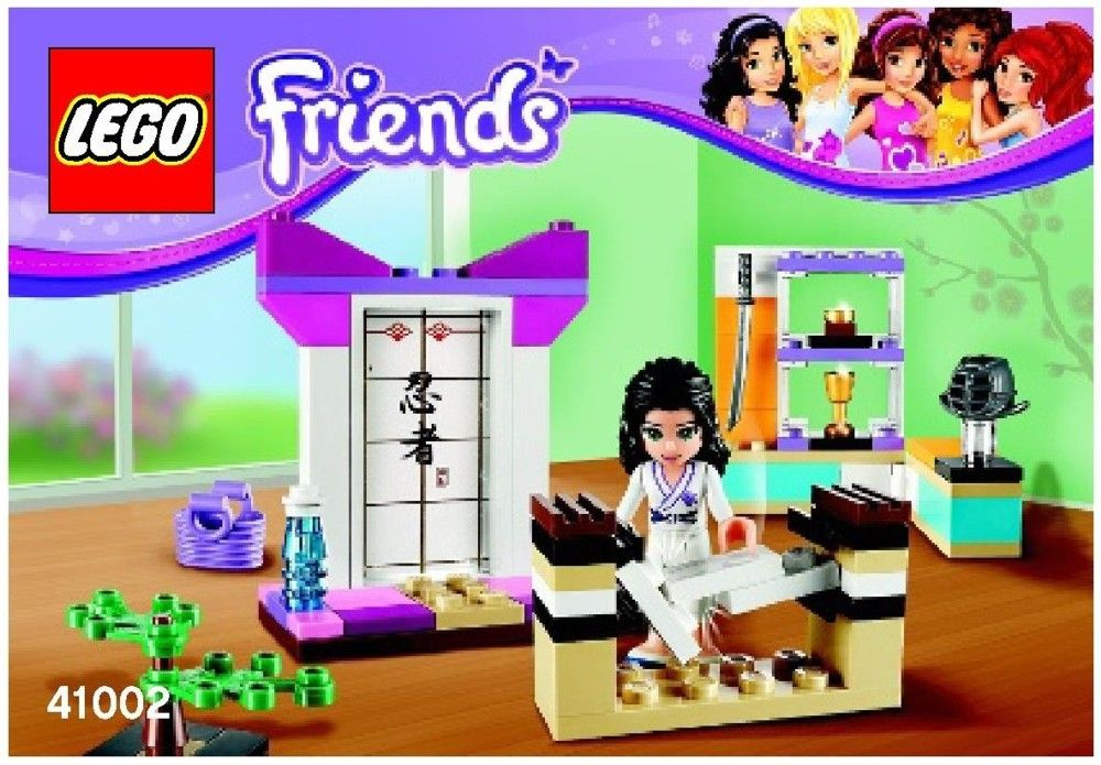 41002 Lego Friends Emmas Karate Course Future Pinterest