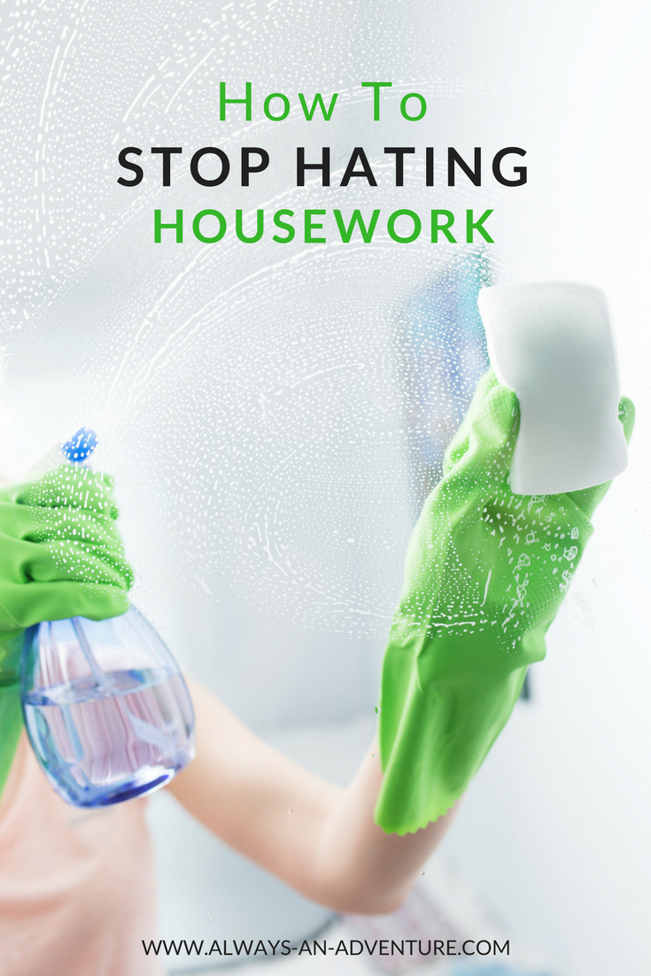 Since I'm sure I'm not the only mom who struggles with this, I wanted to share the love and let you in on my secret. Here's the super simple, practically free way I learned to stop hating housework: