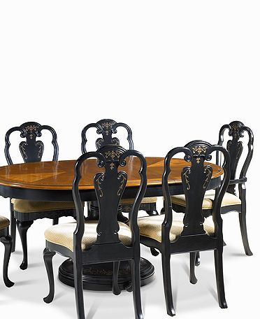Hand Painted Dining Room Furniture Collection   Dining Room Furniture    Furniture   Macyu0027s