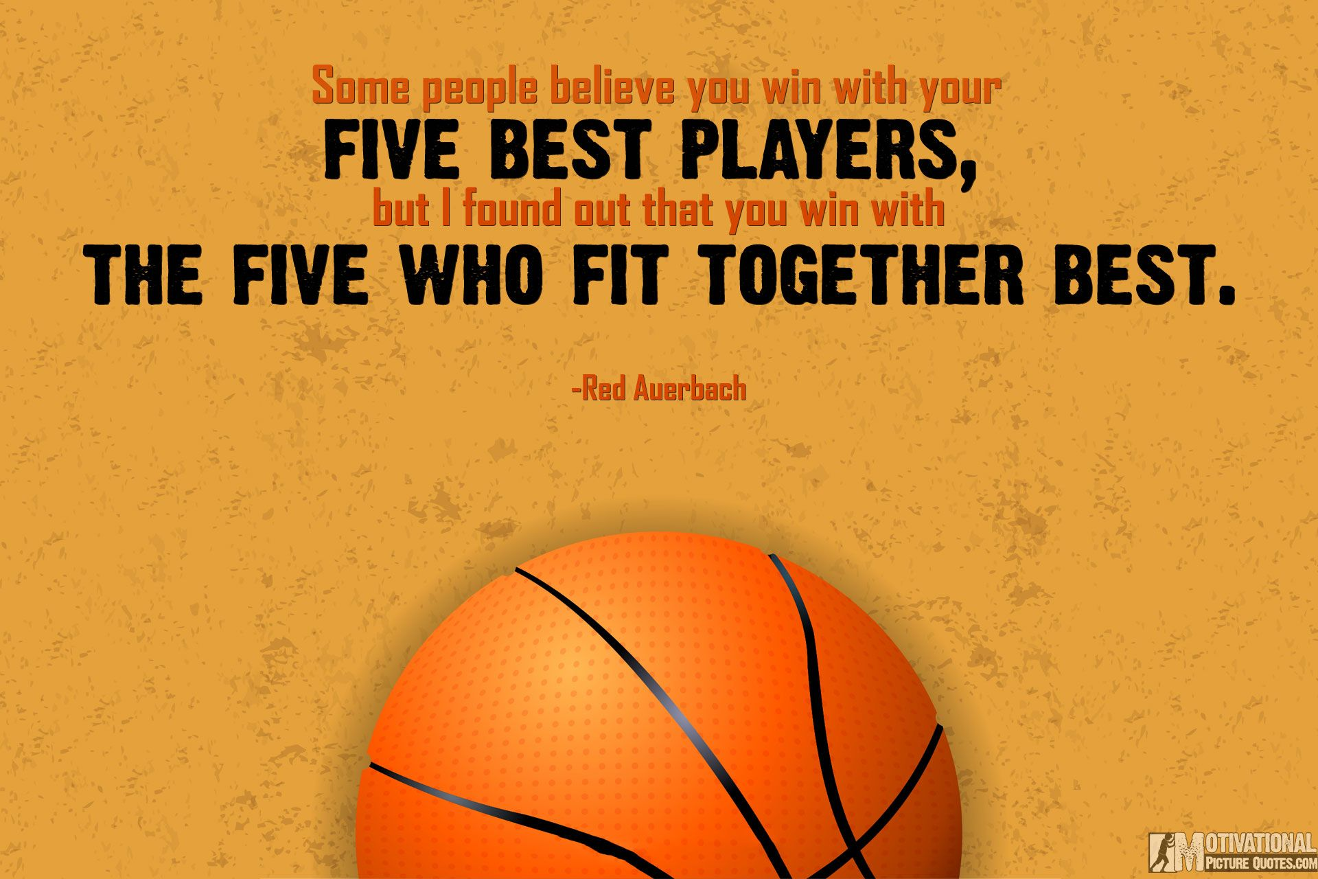 Motivational Basketball Quotes Inspiration Basketball Inspirational Quotesred Auerbach  Motivational . Decorating Inspiration