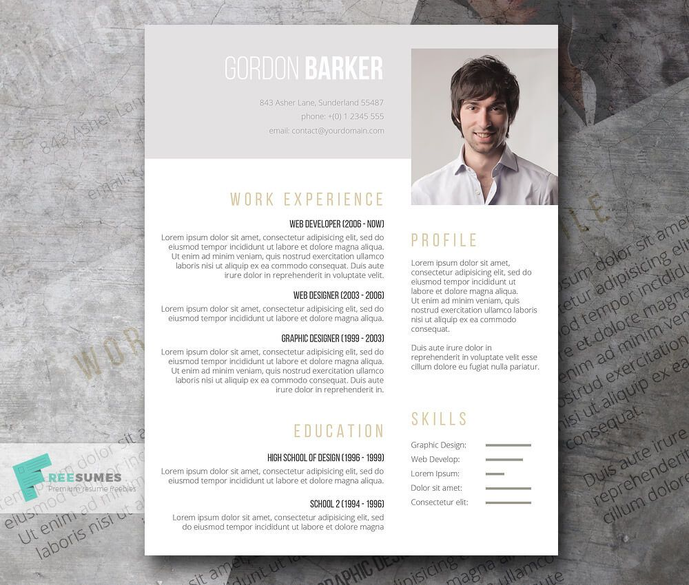 The Best CV & Resume Templates: 50 Examples | Design Shack ...