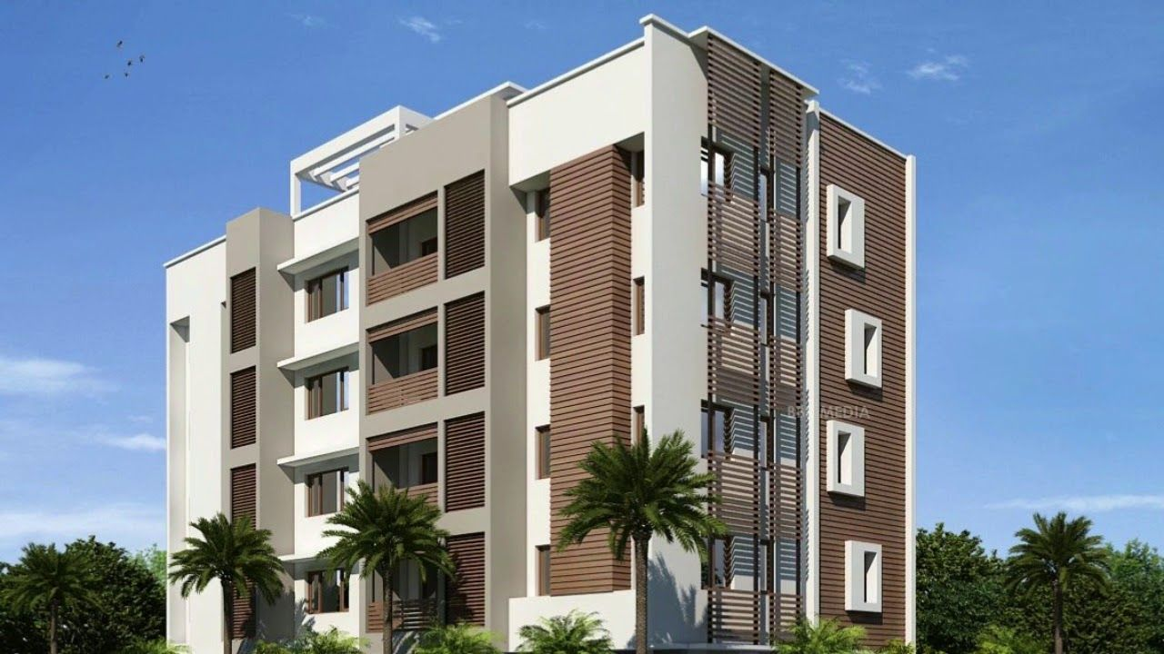 Pin By Search Hyderabad On House Elevation Apartment Building House Elevation Building Elevation