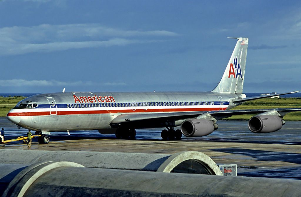 American Airlines 707 American Airlines Boeing 707 700