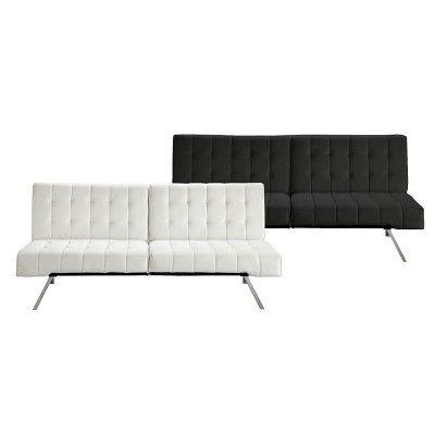 Emily Futon Black Vanilla Target Mobile Sofa Bed Target