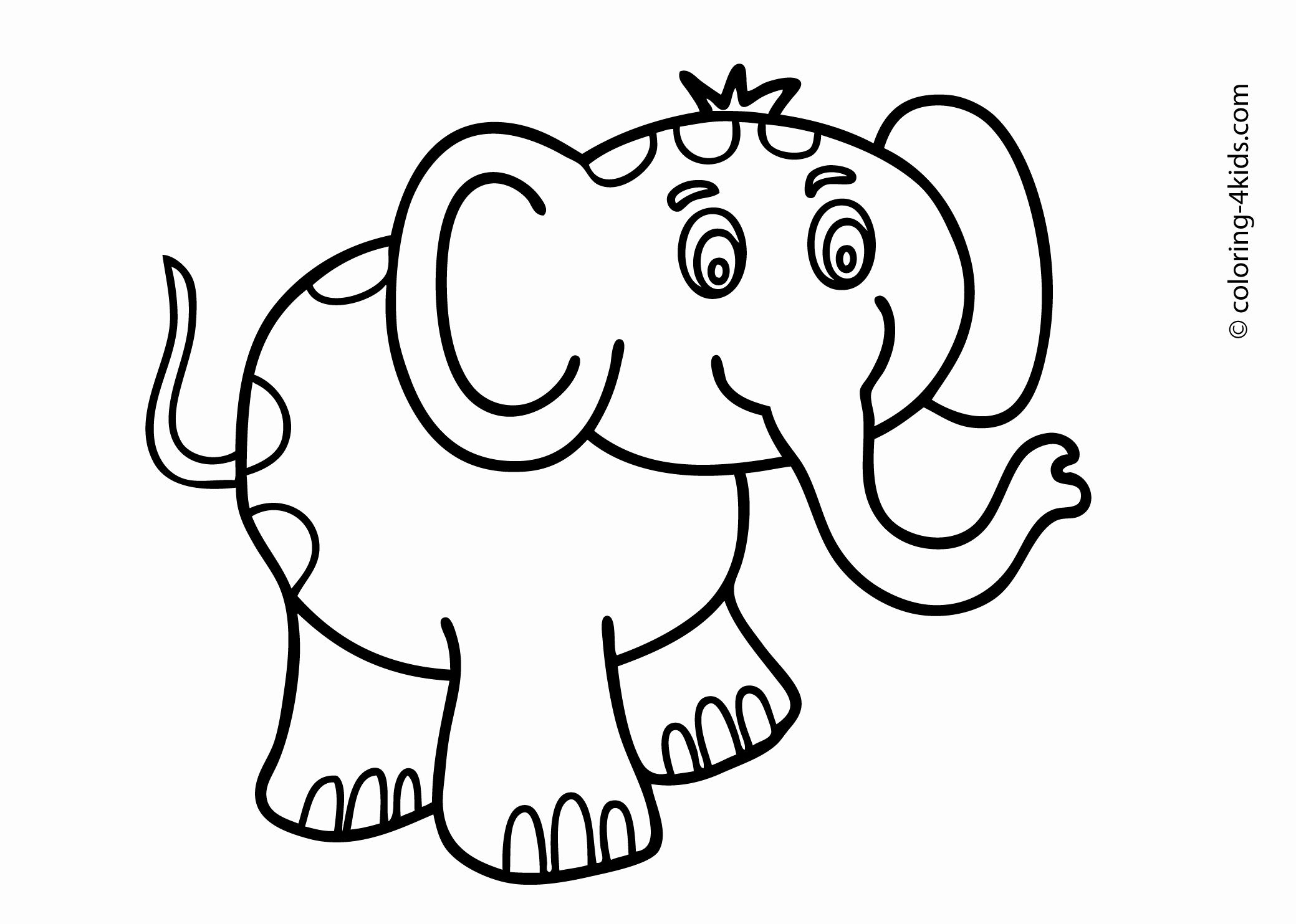 Drawing Book For Children Free Download Beautiful Collection Coloring Pages For 10 12 Year O Elephant Coloring Page Animal Coloring Pages Animal Coloring Books
