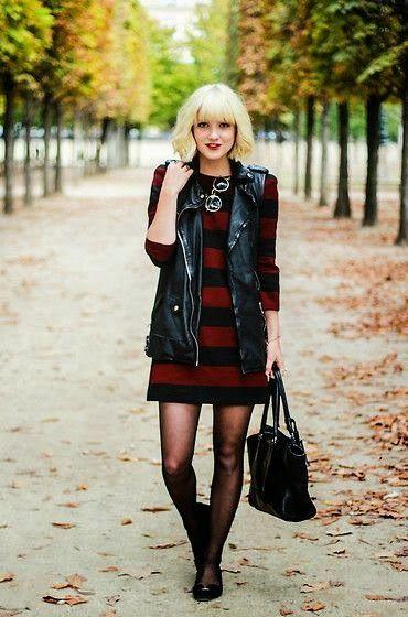 Vestidos casuales de otono invierno