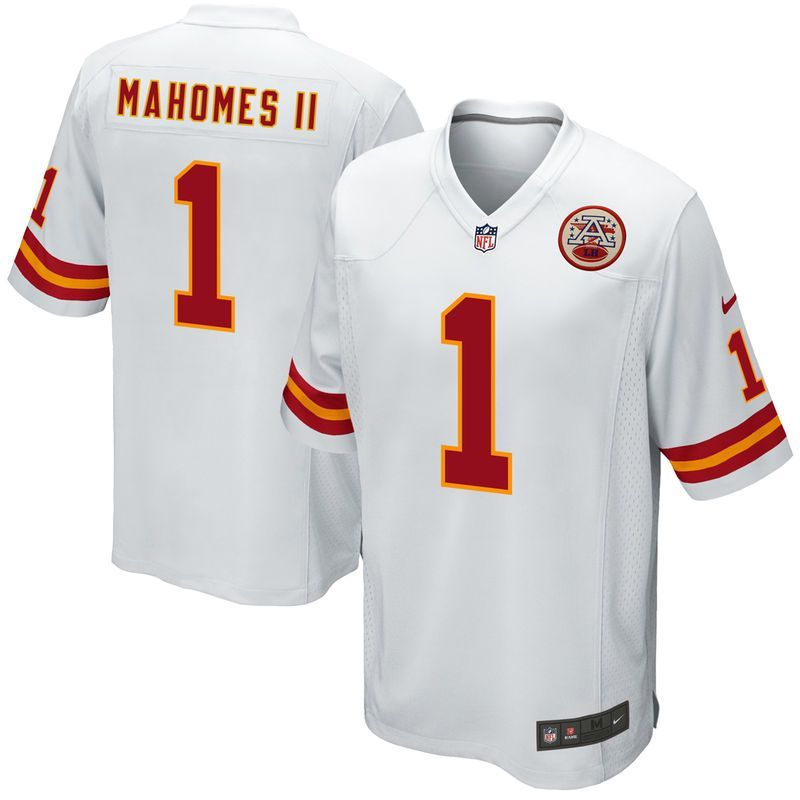 1a717c307ae Patrick Mahomes II Kansas City Chiefs Nike 2017 Draft Pick Game Jersey -  White