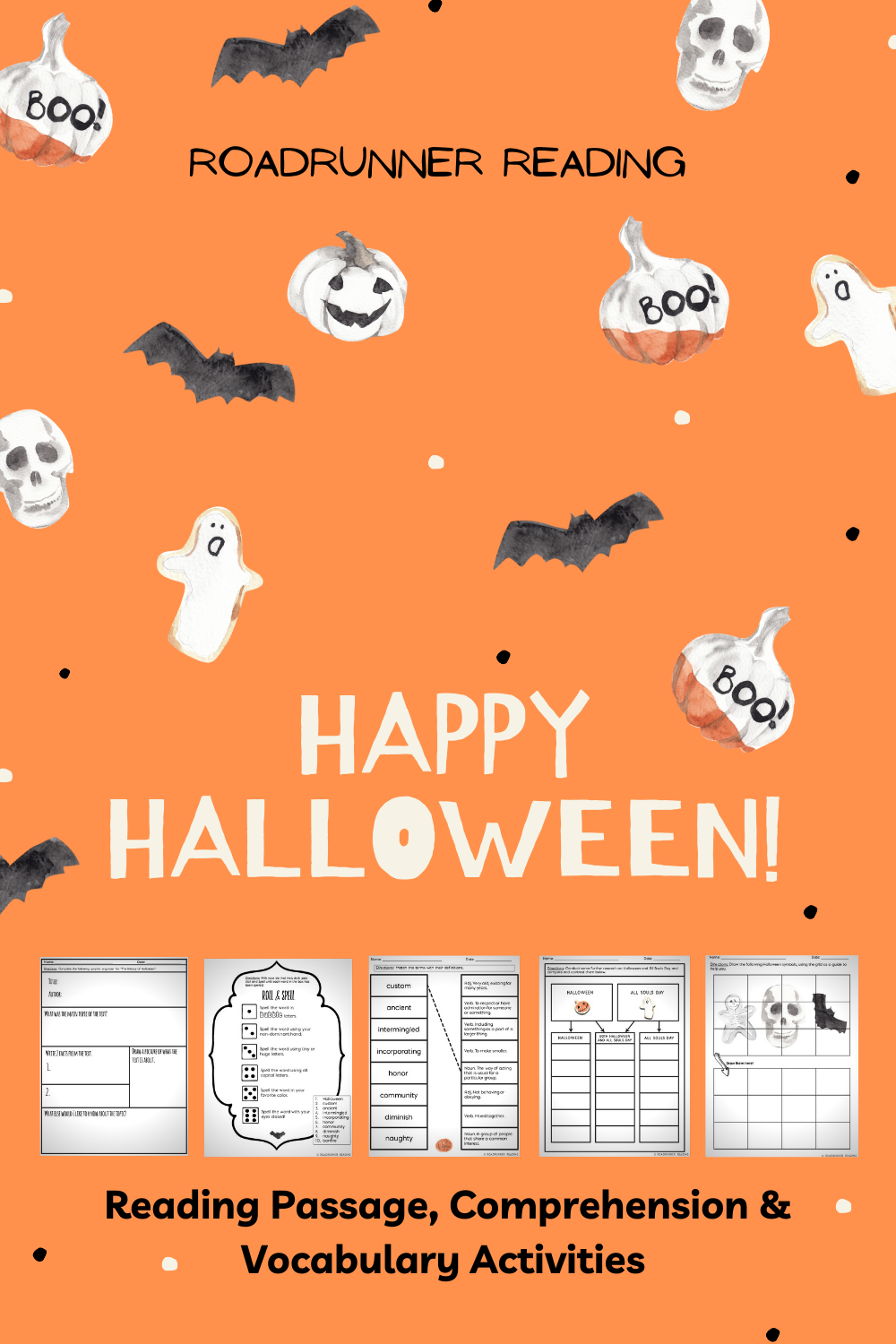 Halloween Reading Passage Comprehension And Vocabulary Activities Reading Passages Halloween Reading Passages Halloween Reading [ 1500 x 1000 Pixel ]