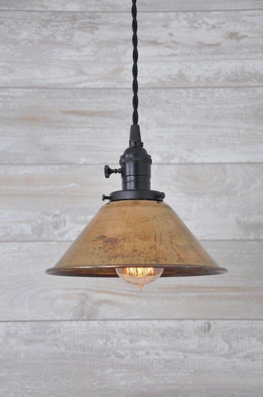 Copper Pendant Light Copper Lighting Copper Lamp Shade Etsy