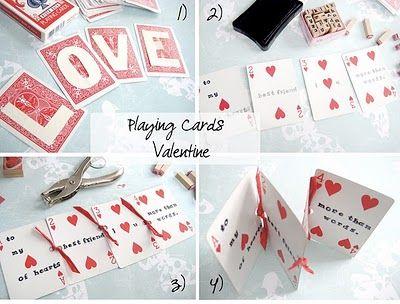 Valentine Card Valentine Day Crafts Diy Gifts For Boyfriend Valentine Craft Projects