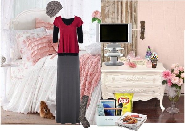 """Lazy Day Outfit"" by christianmodesty ❤ liked on Polyvore"