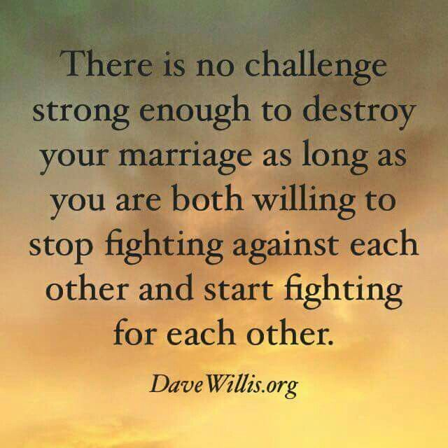 Fight for a strong marriage | Faith / Quotes | Quotes, Marriage