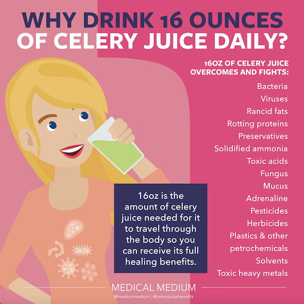 Why Drink 16oz of Celery Juice Daily?