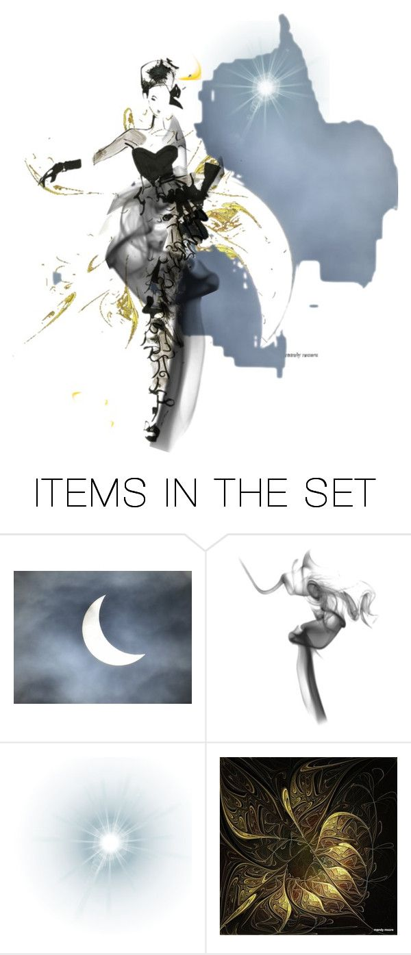 """Double layered lady (by: Sharonnnnnn)"" by sharonnnnnn ❤ liked on Polyvore featuring art"
