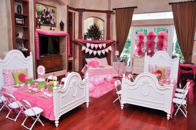 0kit festa do pijama coruja azul rosa 1 Kit lembrancinha ...