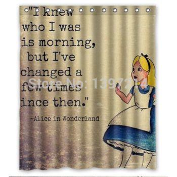 Alice In Wonderland Shower Curtain Google Search Alice In