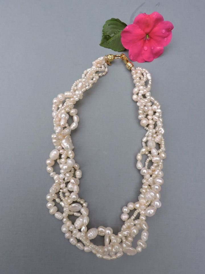 Natural freshwater pearls