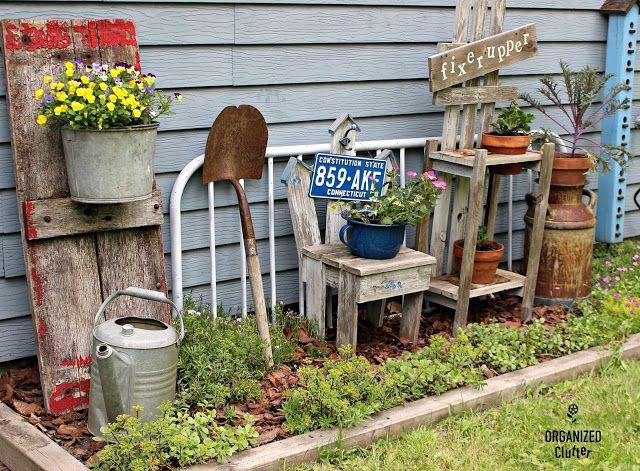 Photo of Weitere Gartendekor-Ideen mit Junk
