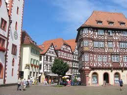 Mosbach, Germany - where my Oma grew up