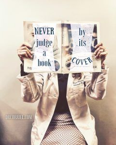 Never judge a book by its cover moral story