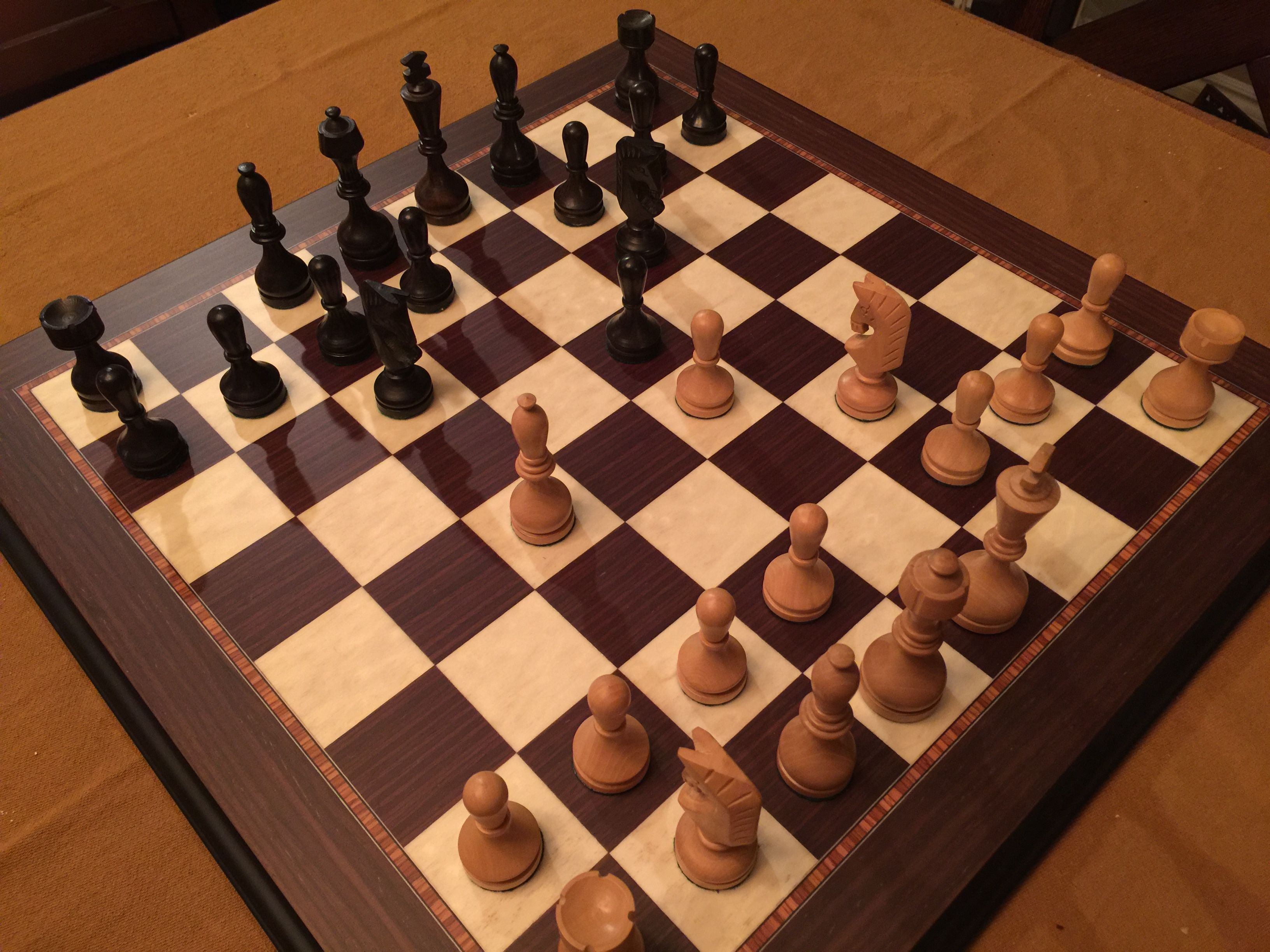 Last Night's SetSoviet Grossmeister Chess Forums