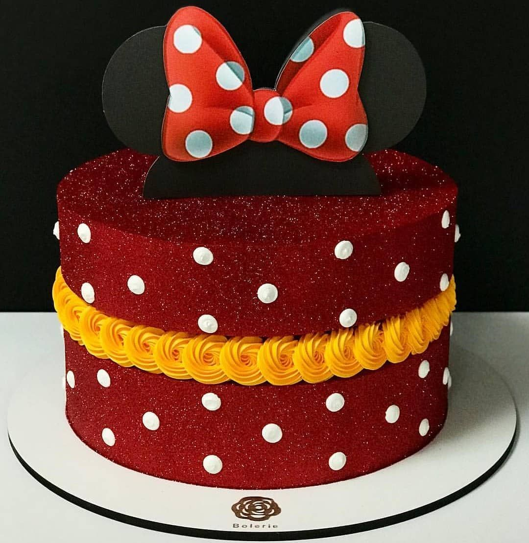 Pin De Afrin Tc Em Cake Land Bolos De Aniversario Da Minnie